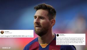 Lionel messi haircuts lionel messi may be known for his smooth moves on the soccer field, but he is also a style icon when it comes to haircut styles. Twitter Explodes As Barcelona Reportedly Confirm That Lionel Messi Wants To Leave The Club