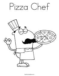 Small Picture Pizza Coloring Pages Twisty Noodle