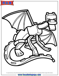 Small Picture Ender Dragon Coloring Page Minecraft Coloring Pages Pinterest
