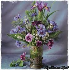 painting of beautiful flowers