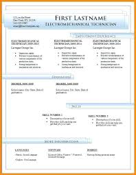 Resume Templates In Word Free Download – Foodcity.me