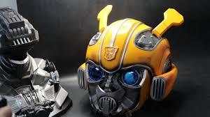 KillerBody -<b>Transformer</b> Bumblebee Electronic Transforms <b>Helmet</b> ...