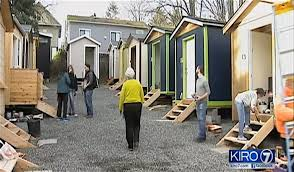 Small Picture Cool Tiny House Village Opens With Electricity to Care for Seattle