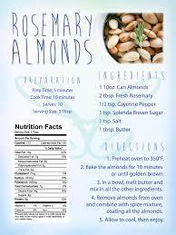 rosemary almonds recipe contemporary