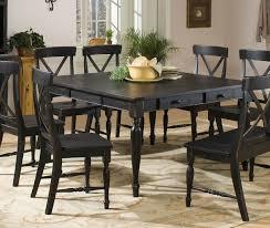 Black Wood Dining Room Set Burl Wood Dining Table