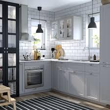 Gray Shaker Kitchen Cabinets Best Of Ikea Lerhyttan Kök Pinterest