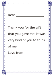 Thank You Letter From Kids Christmas Fun Pinterest