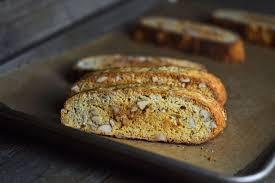 vanilla almond gluten free biscotti