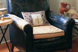 how to refinish leather furniture with deglazer and dye home