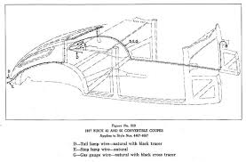 buickcar wiring diagram page 2 body wiring for 1937 buick 40 and 60 convertible coupes