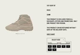 Ad Size Update Adidas Yeezy Desert Boot Rock Http