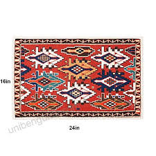 mr fantasy non skid kitchen mat area accent rug entrance shoe ser doormat absorbent geometric plaid