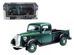 1937 Ford Pickup Truck 1:24 Diecast Car Model by Motormax – Oxemize