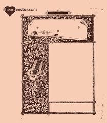antique frame border. Free Antique Frame Vector Graphic Border