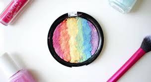 diy rainbow highlighter featured
