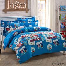 image of kids full size bedding blue