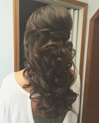 Occasion Hair Style special occasion hairstyle romantic halfuphalfdown 1814 by stevesalt.us
