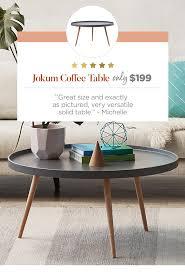 jo scandinavian style coffee tray