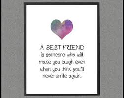 Quotes About Friendship Long Distance Best Friend Gift Long Distance Friendship Quote Best Gift 88