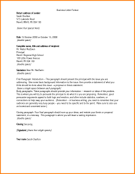Example Of Business Letter Addressing Issues Elrey De Bodas