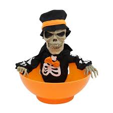 animated halloween candy bowl. Modren Halloween Animated Snapping Sam Candy Bowl Halloween Decoration Play Toy Intended I