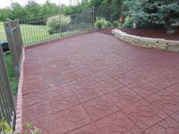 residential outdoor paver