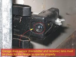 garage door sensors safety sensor lens