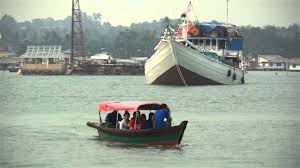 Hotel Laut Jaya Jamil Penambang Boat Laut Jaya Tanjungpinang Youtube