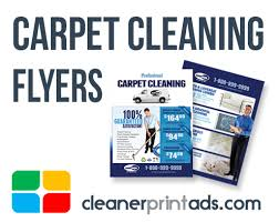 carpet cleaning flyer cleaning flyers