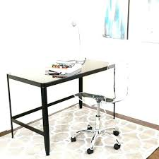 narrow desk office chair large size of small interior design with shelf modern clear acrylic free