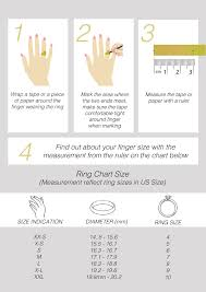 Malaysia Size Chart Find Your Ring Size Her Jewellery