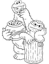 Sesame Street Sign Coloring Pages Street Coloring Pages Sesame