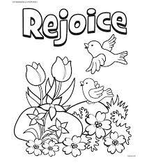 Coloring Page Craft Easter Easter Coloring Pages Easter