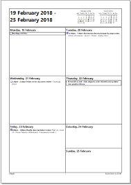 daily calendar to print outlook print calendar options a daily weekly monthly plan