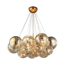 gold leaf chandelier pertaining to trendy titan lighting cielo 3 light antique gold leaf chandelier tn