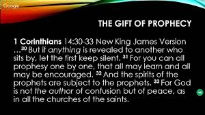 the ic study the ministry of part 19 the 9 gifts of the holy spirit pr