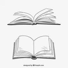 livres ouverts dans un style dessiné à la main book