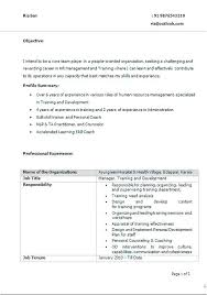 Best Simple Resume Format Interesting Best Resume Format Templates Coaching Professional Cv Template