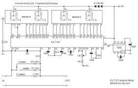 digital volt amp meter circuit diagram digital digital ampere meter circuit diagram wiring diagram on digital volt amp meter circuit diagram