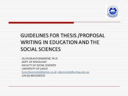 Sample Thesis Proposal Presentation