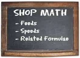 Machining Reference Charts Machine Shop Math Common Formulas And Strategies
