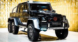 Watch the full movie and see yourself what is possible when. Mercedes Benz G63 Amg 6x6 By Brabus Has 700 Hp 1 Million Price Tag Carscoops