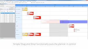 Access Planning Scheduling Drag And Drop Gantt Chart