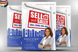 sell your home realtor flyer flyer templates on creative market