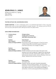 jpjunio updated resume