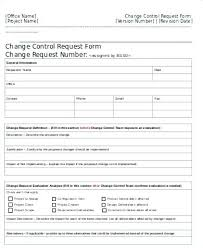 Change Management Template Free Extraordinary Project Change Management Template Carpaty
