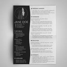 Cv Ms Office Minimal Resume Template Design Cover Letter Creative Cv Template Modern Format Ms Office Word Powerpoint Pdf Instant Download