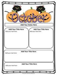 october newsletter ideas october preschool newsletter template november newsletter for