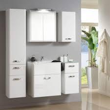 Bad Waschtisch Set In Weiß Susanne 2 Teilig