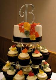 fall wedding cupcakes. Contemporary Cupcakes The 1st Of 3 Fall Cupcake Towersu2026funfetti Cupcakes With Cream Cheese  Frosting And Red Velvet Honey Frosting In Fall Wedding Cupcakes K
